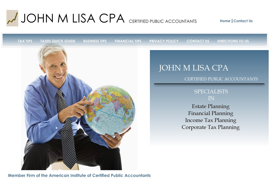 John M Lisa CPA Directions to Us